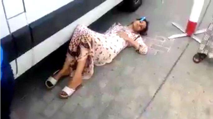 أوجاع امراة تكشف عن أوضاع مزرية في مستشفى سطات