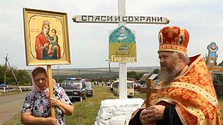 Ukrainian ceremony for MH17 flight victims
