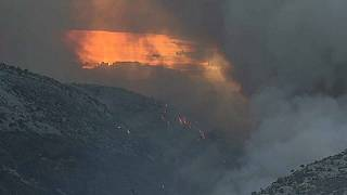 Horvátországban napok óta tüzek pusztítanak