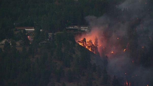 L'Ouest canadien en proie aux flammes