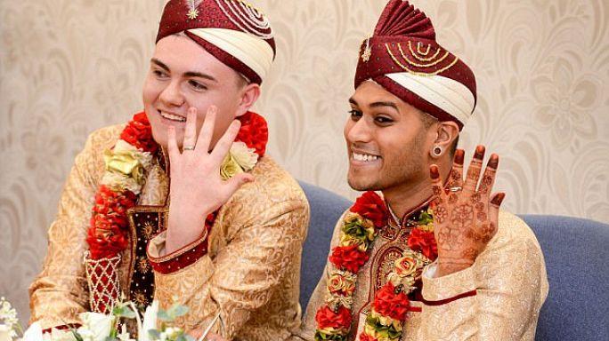 تعرف على أول مسلم مثلي الجنس يتزوج من صاحبه
