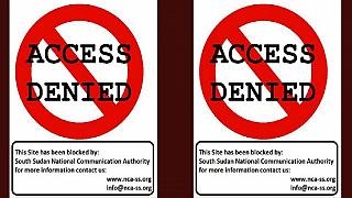 Major South Sudanese news websites blocked in the country