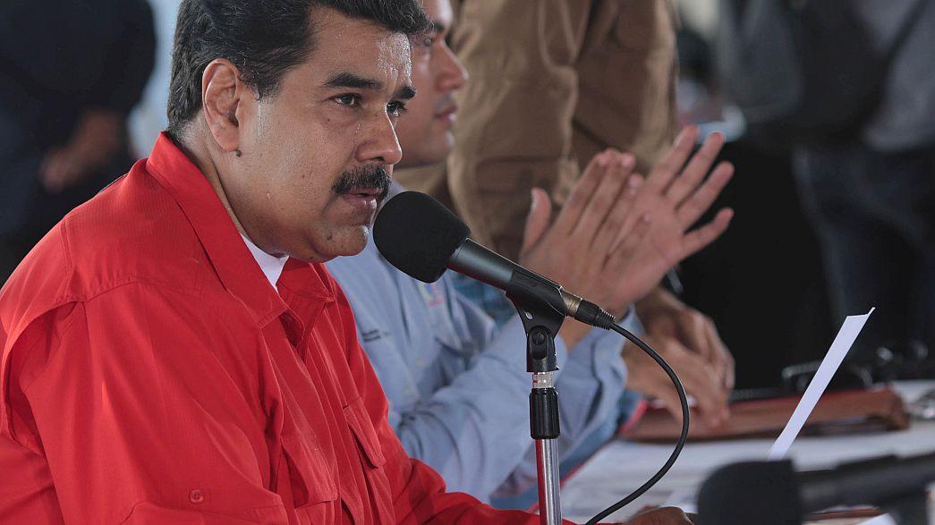 """La colère de Maduro : """"le Venezuela n'est pas une colonie de l'UE"""""""