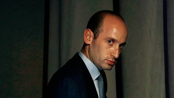 Image: White House policy adviser Stephen Miller is seen at the Ohio Republ