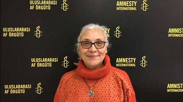 Gözaltındaki insan hakları savunucularından 6'sı tutuklandı