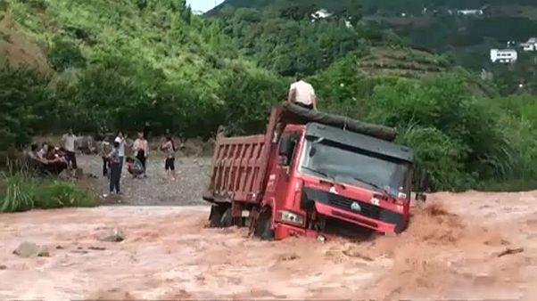 Szerencsés menekülés Kínában