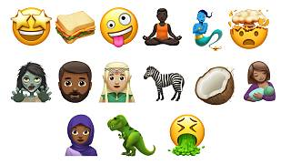 Apple shows off new emojis