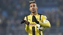 Aubameyang trains with Dortmund amid transfer speculation