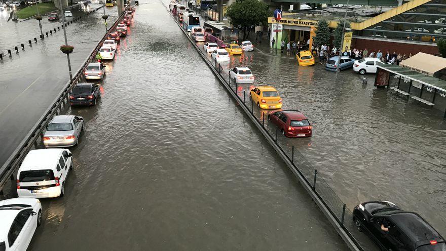 İstanbul su altında