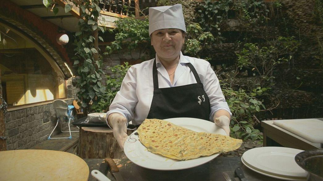 Les mille et une saveurs du Qutab azéri