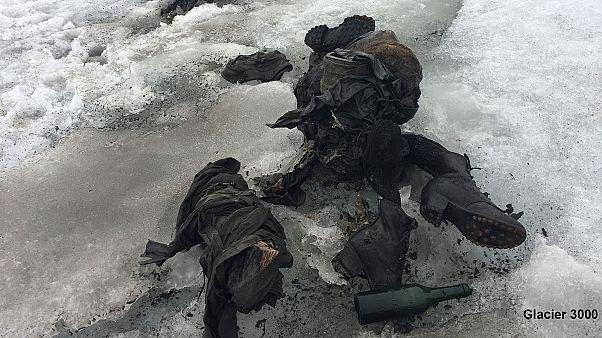 Due corpi restituiti dal ghiacciaio dopo 75 anni