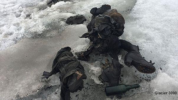 العثور على زوجين محنطين في الجليد بعد 75 عاما على اختفائهما