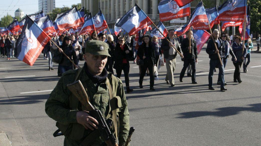 Ucraina: i separatisti filorussi vogliono un nuovo Stato con capitale Donetsk