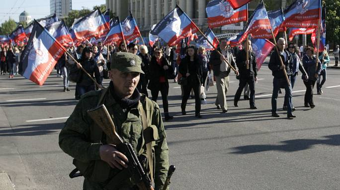 Anger in Kyiv as Ukraine rebels proclaim 'Little Russia'
