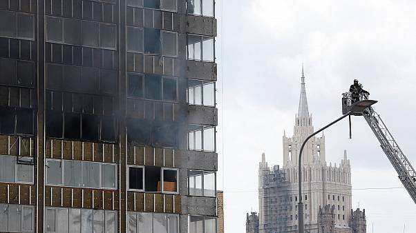 Μόσχα: Στις φλόγες κτίριο 27 ορόφων