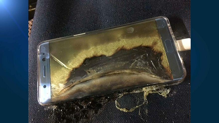 Tonnellate di metalli dal riciclo di Samsung Note 7