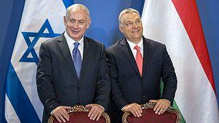 Benjamin Netanyahu em Budapeste