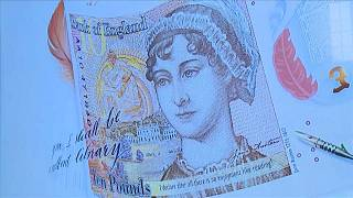 Jane Austen featured on new British bank note