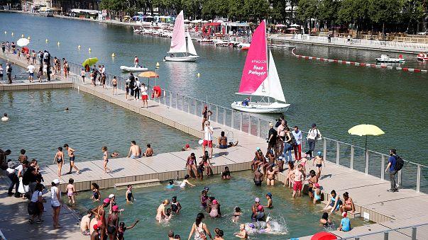 Paris nage en eau libre