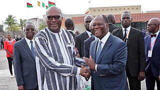 """Burkina et Côte d'Ivoire veulent lutter """"ensemble"""" contre le terrorisme"""