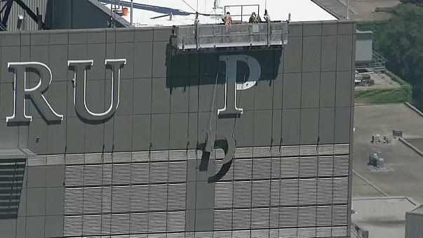 Trump Hotel Toronto loses sign as rebranding gets underway