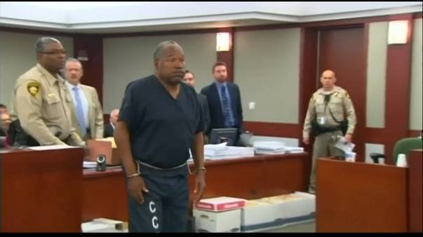 O.J. Simpson set for parole
