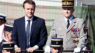 French army head quits after row with president