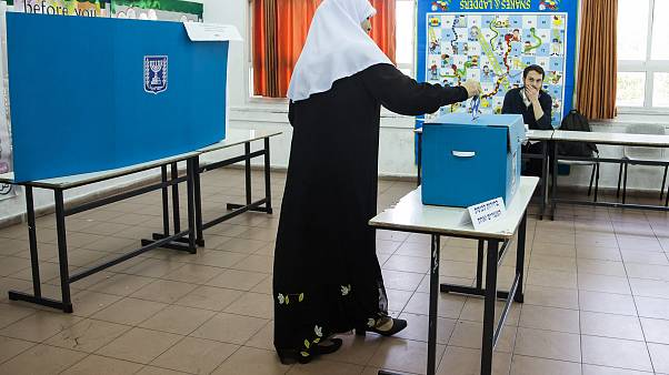 Image: Israel Votes in Their General Election
