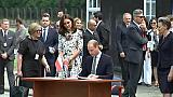 William e Kate in visita in Polonia con i principini