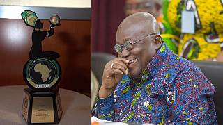 Ghana president admits not knowing why A.U. gave him 2017 Gender Award