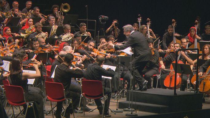 Az iráni szimfonikusok Ravennában