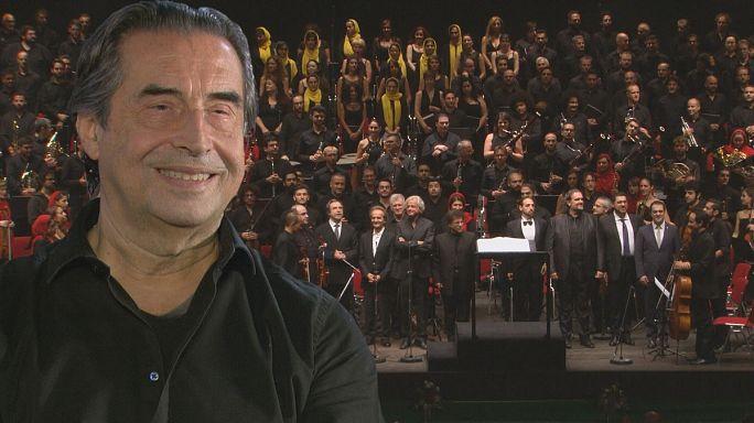 """Il Maestro Muti: """"la musica è sinonimo di pace e fratellanza"""""""