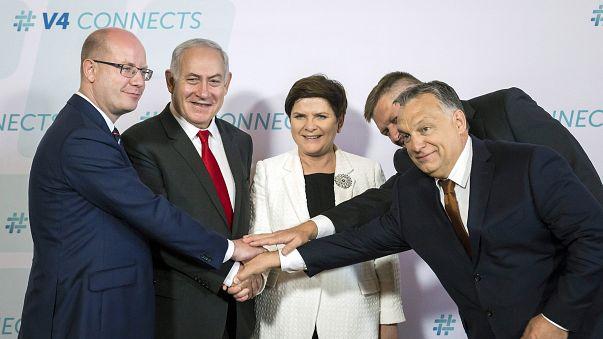Israeli PM and central European states attack EU