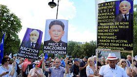 Justizreform: Brüssel droht Polen mit scharfen Sanktionen