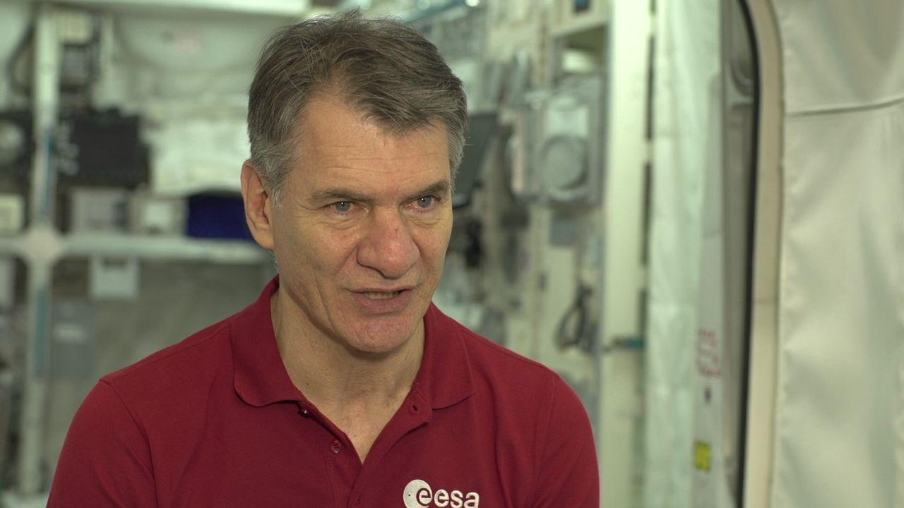 """""""La Stazione spaziale è una casa-laboratorio"""""""