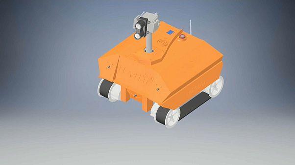 Portekizli öğrenciler kurtarıcı robot icat etti