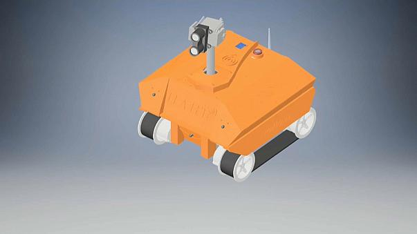 Un robot pour aider les secouristes