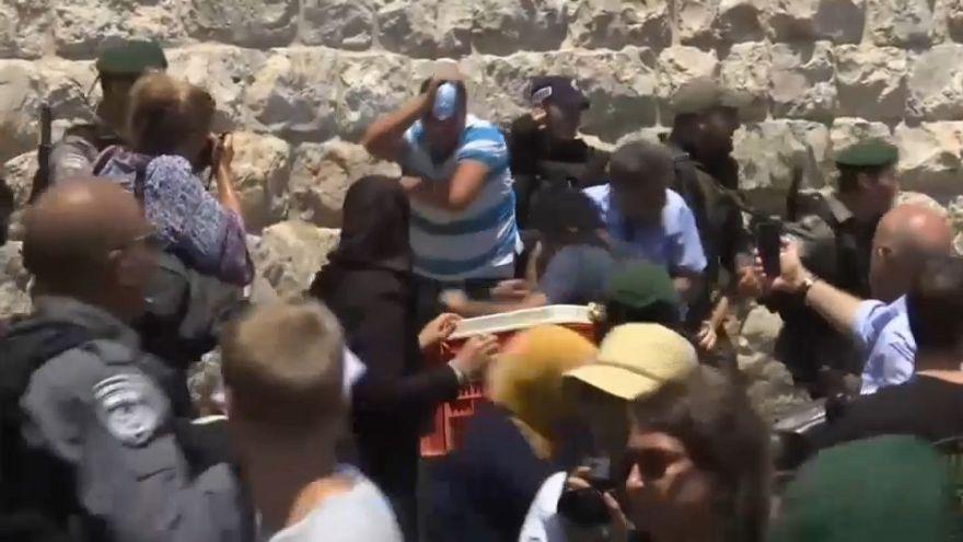 Choques aislados en el Día de la Ira en Jerusalén