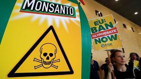 Proteste gegen Zulassung von Unkrautvernichter Glyphosat