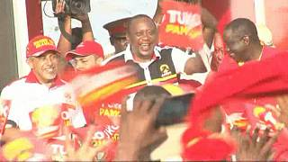 Kenya Elections: President Kenyatta on the campaign trail [no comment]
