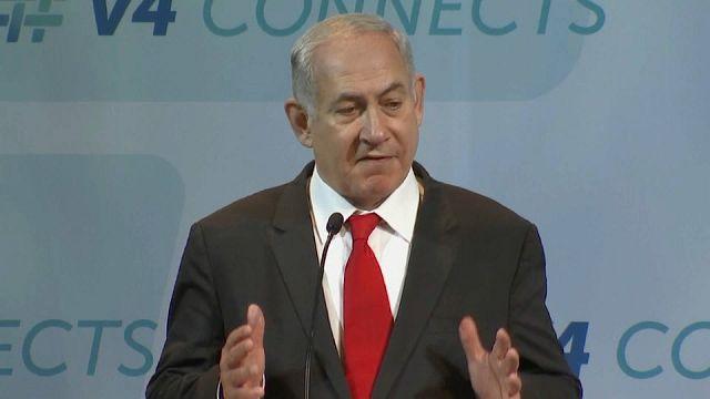 Netanyahu critica la política de la Unión Europea con respecto a Israel