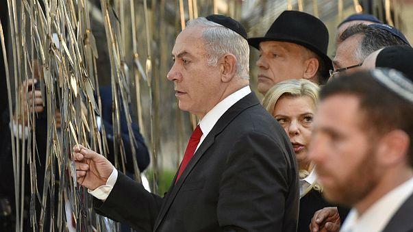 Нетаньяху посетил крупнейшую в Европе синагогу