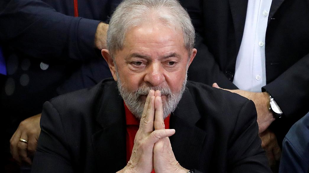 Brazilian judge freezes ex-president Lula's assets following conviction