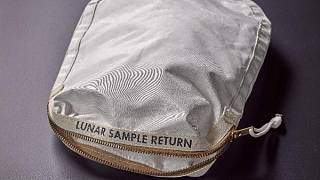 Neil Armstrong's space bag expected to fetch millions at auction