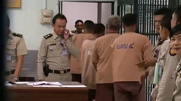 62 emberkereskedőt ítéltek el Thaiföldön