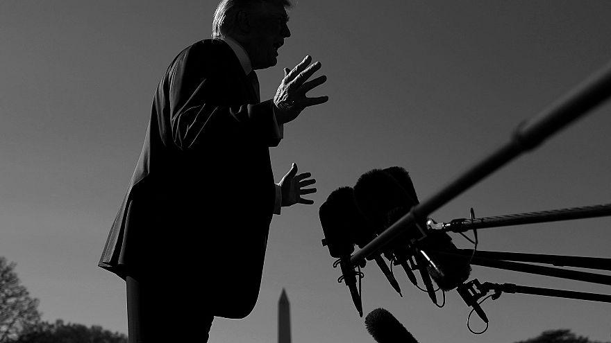 Image: President Trump Departs White House En Route To Texas