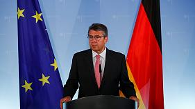 German Foreign Minister Sigmar Gabriel announces a raft of measures against Turkey in response to the detention of a German human rights activist.