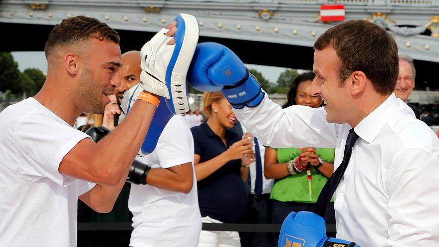 [VIDEO] Boxen, Golf, Kanu - Weltpolitiker beim Sport