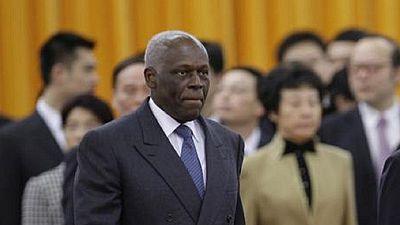 Le président angolais de retour d'Espagne