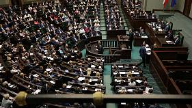 Poland's lower house passes controversial judiciary reform bill